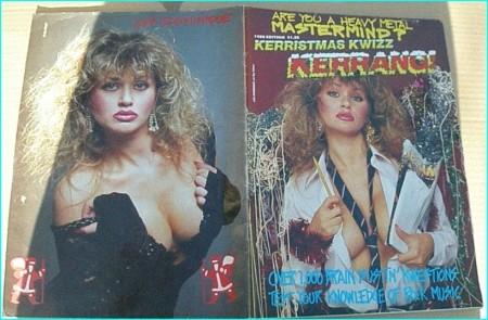 KERRISTMAS KWIZZ 1988 EDITION Kerrang