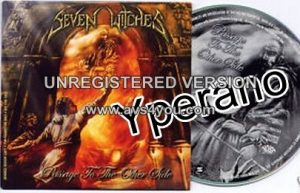 SEVEN WITCHES: Passage to the Other Side PROMO CD + Def Leppard Cover. Helstar singer + Joey Vera (Armored Saint). s