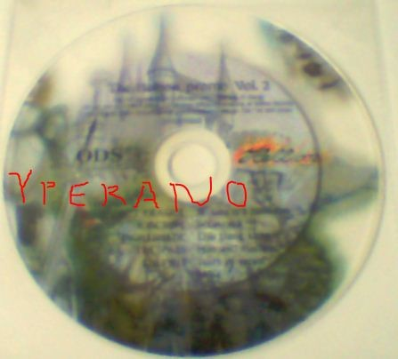 The Hellion promo Vol. 2 CD PROMO Nightshade, Not Fragile, K Octave, Trespass, Culprit. s