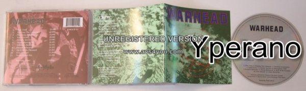 WARHEAD: s.t CD. Speed Metal / Heavy N.W.O.B.H.M. Evo (Warfare), Algy (Damned, Tank), Wurzel (Motorhead)!