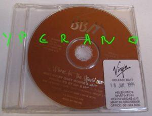 BBM: Where In The World CD PROMO Single. Jack Bruce, Ginger Baker, Gary Moore.