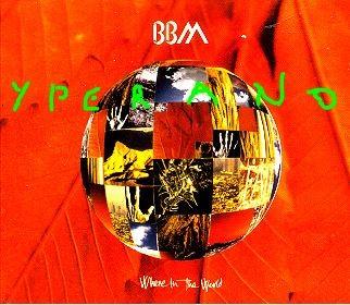 BBM: Where In The World CD digipak single UK. Rare. Jack Bruce, Ginger Baker, Gary Moore.