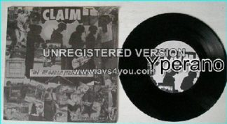 "CLAIM: We 're Gonna Find A Way 7"" relentless + very powerful punk single. Lyrics sheet in both English & Czech. ULTRA RARE."