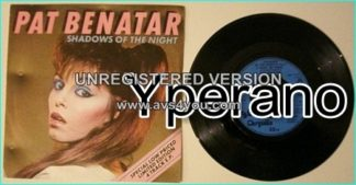 Pat BENATAR: Shadows of the night (special limited edition 4 track E.P) +Heart Breaker + Get Nervous + Treat me right