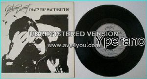 "Graham BONNET: That's The Way That It is 7"" singer with RAINBOW, MSG, ALCATRAZZ etc. Check video. + 3 Whitesnake / Deep Purple"
