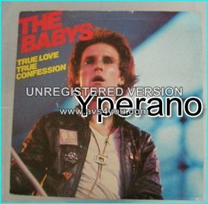 "The BABYS: True Love, true Confession + Broken Heart (Live) + Money (Live. Cover) Rare 7"", incredible vocals. Check videos"