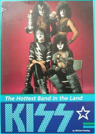 KISS: The Hottest band in the land BOOK. All pages in great condition.