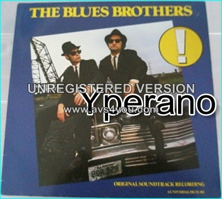 Blues Brothers - Music from the Film: Original Soundtrack LP. s. HIGHLY RECOMMENDED.