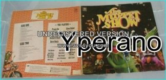 Muppet Show Gatefold LP. Check videos