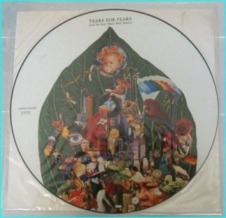 Tears for Fears Laid So Low (Tears Roll Down). Numbered Special Edition picture disc. The ideal band for the thinking manï¿