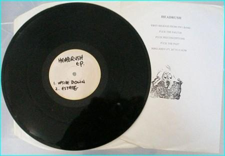 Creaming Jesus: Headrush E.P press testing. SUPER RARE Alternative Rock, Goth Rock, Punk. Covers