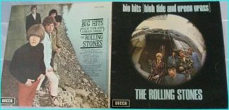 Rolling Stones Big Hits (high tide and green grass) LP. Gatefold sleeve TXS 101. s.