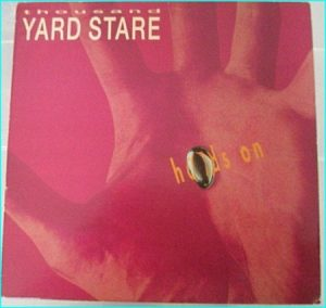 Thousand Yard Stare: Hands On LP w. inner. Cool Alternative rock / Indie pop. s + videos.
