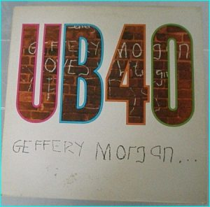UB40: Geffery Morgan LP. s + video