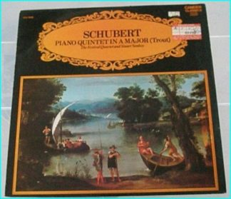 Schubert Piano quintet in A Major (trout) LP. (England)1969.