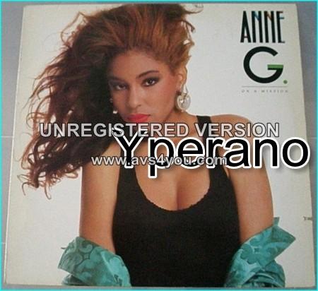 Anne G: on a mission LP.
