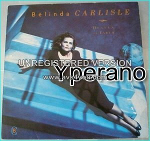 Belinda Carlisle: Heaven on earth LP [glossy inner with Killer pictures + lyrics] Check videos