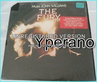The Fury Music John Williams LP. (Near Mint vinyl). A brilliant horror score!