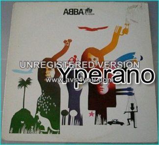 Abba: the album LP