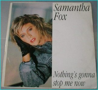 """Samantha Fox: Nothing's gonna stop me now 12"""" vinyl. Check video"""