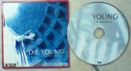 DIE YOUNG: Graven Images CD. modern hardcore and punk.