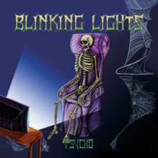 BLINKING LIGHTS: Psycho CD. Independently released RARE Heavy Metal. Special packaging. HIGHLY RECOMMENDED