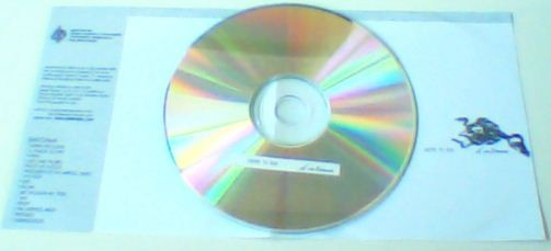ABLE TO BE: Sintoma CD. Modern rock / metal like Tool or A Perfect Circle. s, free for orders of £20+