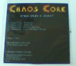 CHAOS CORE: 2007 (Destiny Machine)CD. Melodic Death Metal / Thrash Metal. s, free for orders of £20+