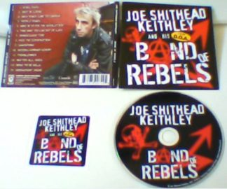 "JOE SHITHEAD KEITHLEY: Band Of Rebels CD. D.O.A., Annihilator members. Steppenwolf ""Born to Be Wild"" cover"