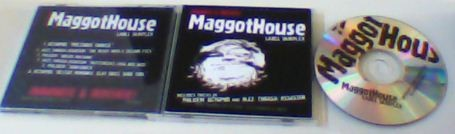 V.A - MAGGOTHOUSE: Irritate & Innovate CD (label sampler). Incl. the artists: Octopod, Jazz Thrash Assasin, Phluxm. Free £0