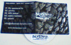 BLACK JUMPER Trust No1 -.Modern Metal / Nu Metal. Free £0