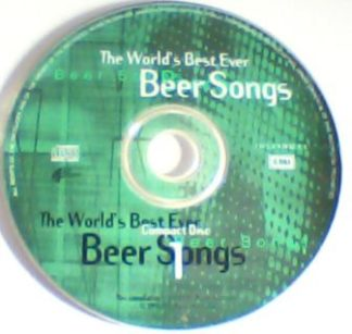 The world's best ever Beer Songs CD