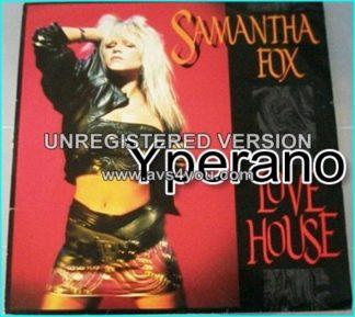 "Samantha Fox: Love house 12"" vinyl (2 different mixes ++). ."