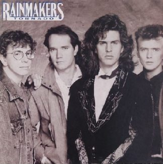 The RAINMAKERS: Tornado LP PROMO in mint condition. & videos