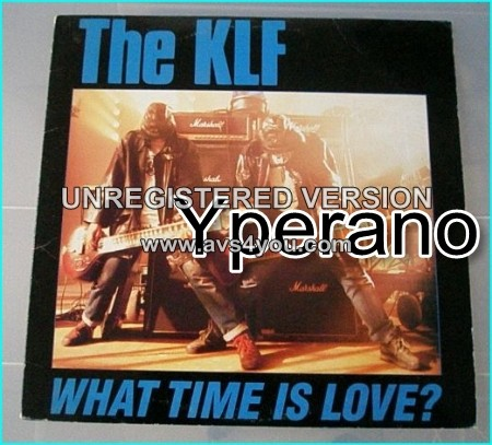 """The KLF: what time is love 12"""" Featuring [The Voice Of Rock] - Glenn Hughes. Check video!"""