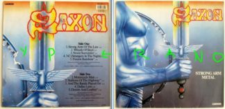 SAXON: Strong Arm Metal LP. 1984 Check samples