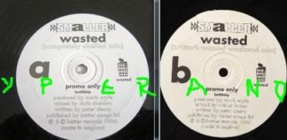 "SMALLER: Wasted 12"" PROMO UK 1996. Check video"