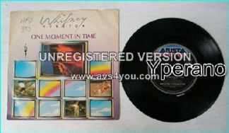 "Whitney HOUSTON: One moment in time 7"" Check video"