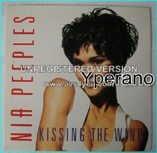 "NIA PEEPLES: Kissing the wild 7"" [thin and busty singer. Great] Check video"