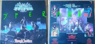 SPIDER: Rough justice LP 1984. Top Nwobhm 'n Roll. Uplifting, a la Vardis. Check exclusieve samples. Semi concept album!