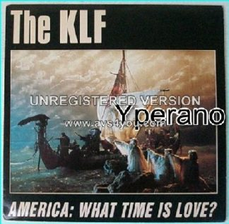 "KLF: America: What time is Love? 7"" Featuring [The Voice Of Rock] Glenn Hughes. Check video. HIGHLY RECOMMENDED"