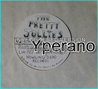 "THE PRETTY JOLLIES: Patatoland + Terrorist Alert [ULTRA RARE, Limited Edition of 500 7"" single on Howling Dead Records"