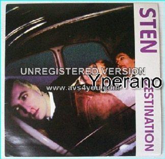 "STEN: Destination + Tongue 7"" RARE 1995 Killer ROCK!! s. RECOMMENDED"