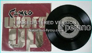 """CAMEO: Word Up + Urban Warrior 7"""" [Here is the original. Heavy Metal bands like GUN have covered Word up!] 7"""""""
