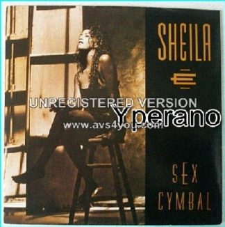 "SHEILA E: sex cymbal 7"". Prince related. Check video!!"
