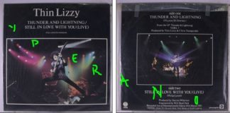 "THIN LIZZY: Thunder And Lightning 12"" UK + Still In Love With You (Live '83). Highly recommended. Check video"