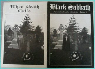 Black Sabbath appreciation society newsletter volume 4