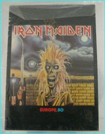 Iron Maiden: Europe 80 European tour programme