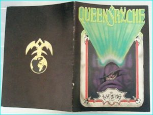 Queensryche the warning tour programme