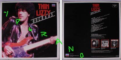 THIN LIZZY: Rockers LP. Check videos